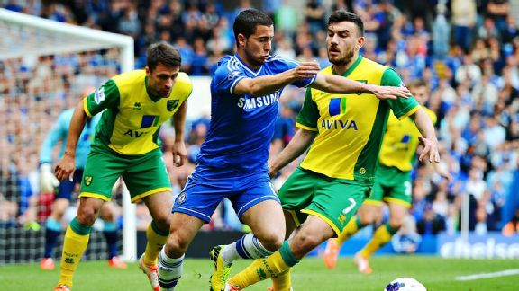Norwich defended manfully at Stamford Bridge but their inability to score goals is the reason they will likely get relegated.