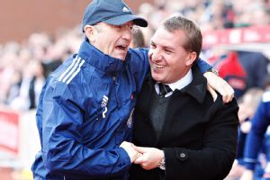 Pulis, Rodgers managers of the year