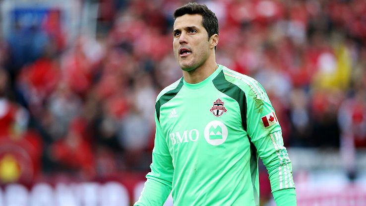 Brazil's Julio Cesar's leaves MLS as Toronto FC returns ...