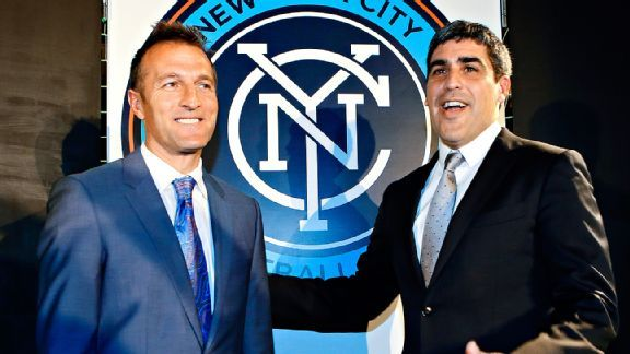 Claudio Reyna and Jason Kreis hope to build a solid foundation for the NYC FC franchise when it kicks off next year.