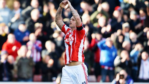 The emergence of Marko Arnautovic is one of the many reasons why Stoke are poised to finish in the upper half of the table.