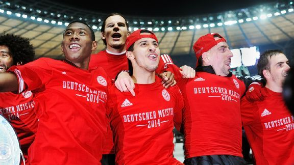 Saturday should be a festive atmosphere at the Allianz Arena as Bayern Munich get to celebrate their Bundesliga title.