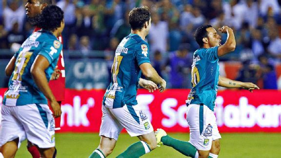 Luis Montes scored to give Apertura champions Leon a slim 1-0 win in their first-leg semifinal versus Toluca.