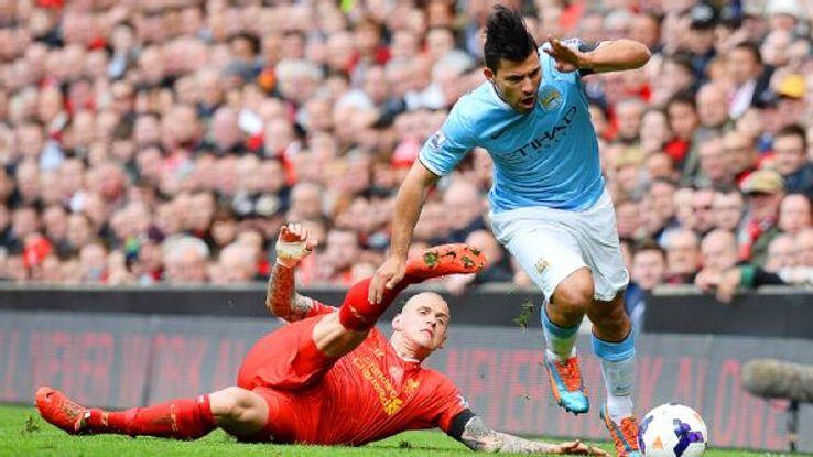Sergio Aguero's injury-riddled season didn't stop him being a key contributor to Man City's season.