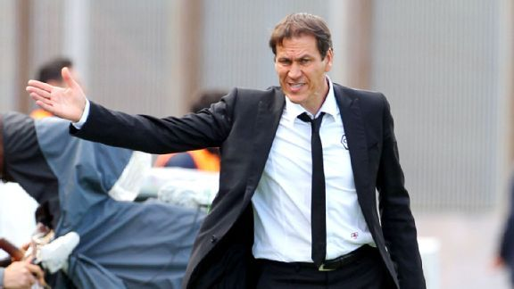 Roma manager Rudi Garcia has seen his team uncharacteristically give up late goals in recent weeks.