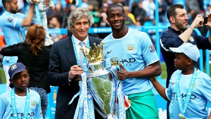 Yaya Toure's inimitable blend of power and poise was crucial to Man City's perfectly timed charge to the Premier League title.