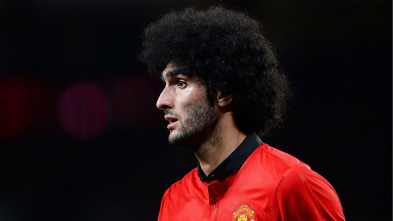 Marouane Fellaini will look to put a trying season at Manchester United behind him at the World Cup.