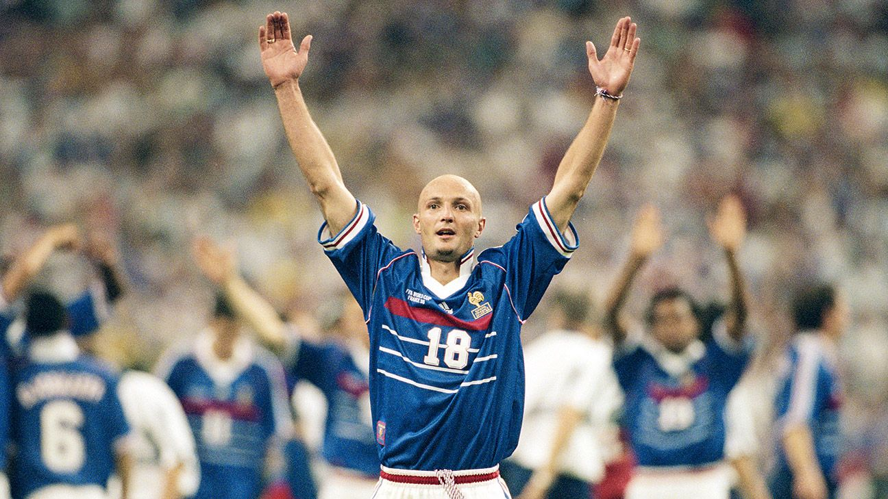 1998 saw the gritty French side shock the world with victory over Brazil in the final.