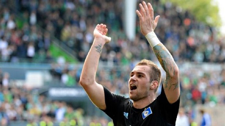 Pierre-Michel Lasogga's form has several Premier League clubs interested.