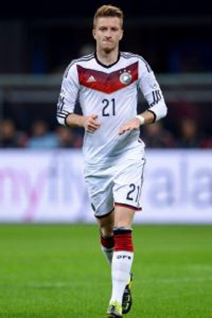 Marco Reus had 16 goals in 30 matches this past season for Borussia Dortmund.