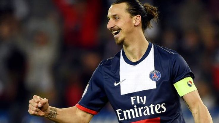 Zlatan Ibrahimovic enjoyed another stellar Ligue 1 campaign with 26 goals scored.