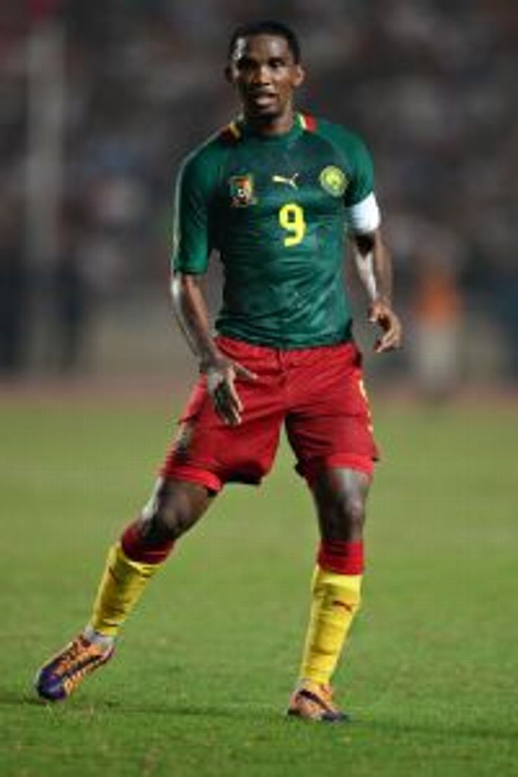 Samuel Eto'o is set to compete in his fourth World Cup for Cameroon.