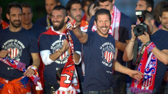 Simeone's victory with Atletico lays waste to the analytics of modern football.
