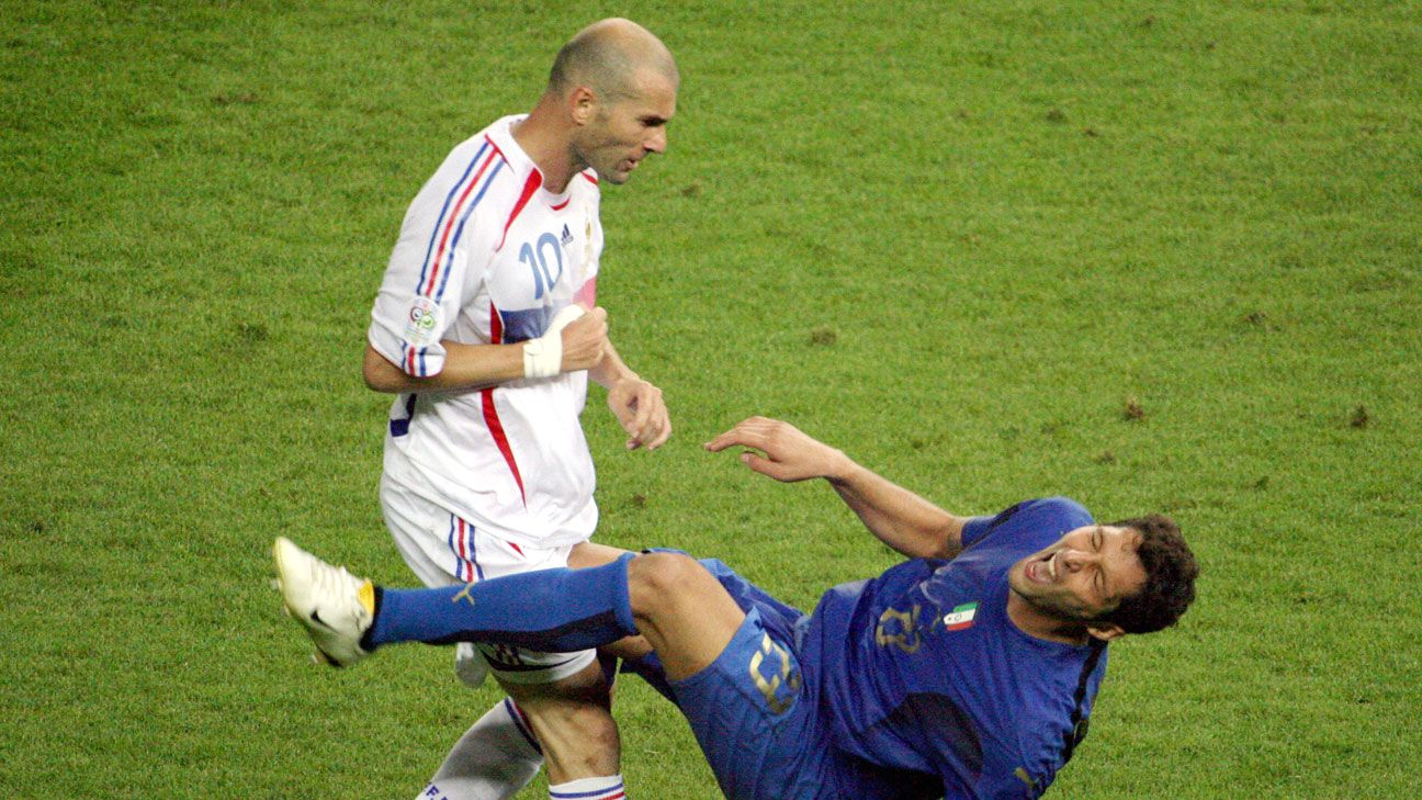 Zinedine Zidane's act proved costly for France in the 2006 World Cup final.