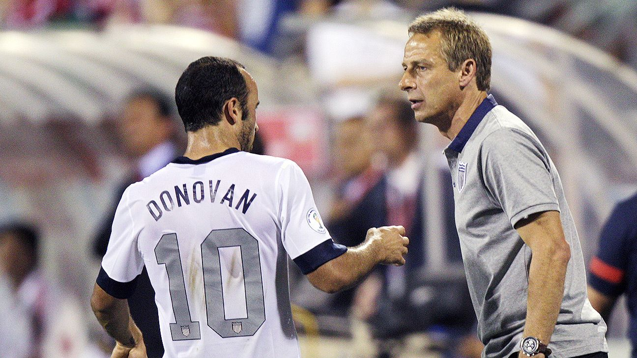 Jurgen Klinsmann snubbed Landon Donovan for the 2014 World Cup.