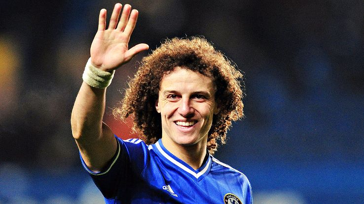 David Luiz was popular with Chelsea fans, but not with Jose Mourinho.