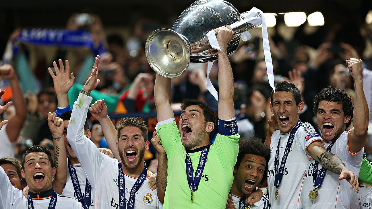 Iker Casillas spent 16 successful seasons at Real Madrid.