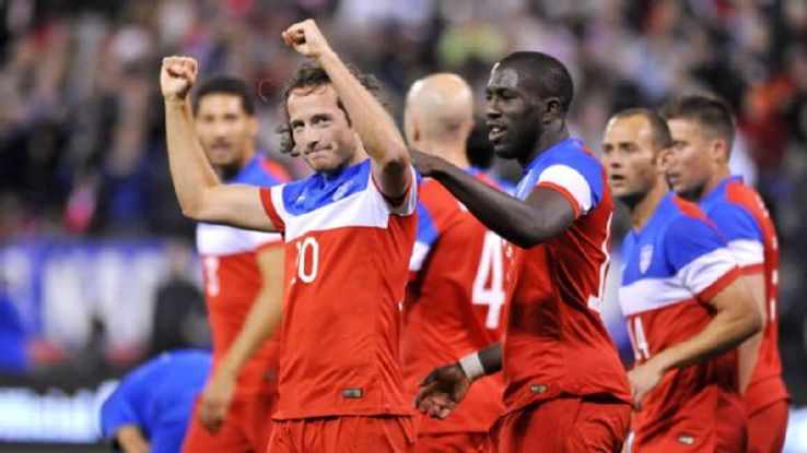 Diskerud scored his third international goal in Tuesday's win vs. Azerbaijan.