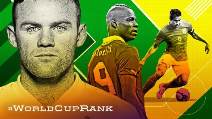 Wayne Rooney, Mario Balotelli or Robin van Persie: Who makes your list?