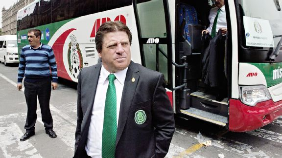 Miguel Herrera is undefeated as Mexico head coach since taking the reins in October.