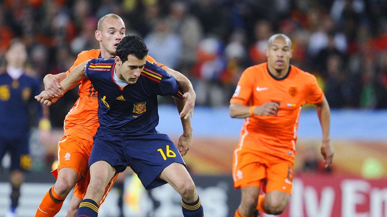 Playing the 'pivote' better than anyone, Busquets is the key to Spain's World Cup chances.