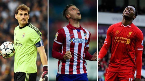 Iker Casillas, Toby Alderweireld and Daniel Sturridge all have heavy burdens and points to prove in Brazil.
