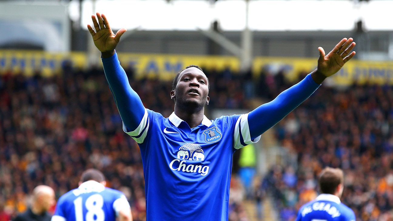 Romelu Lukaku can now call Goodison Park his full-time home.