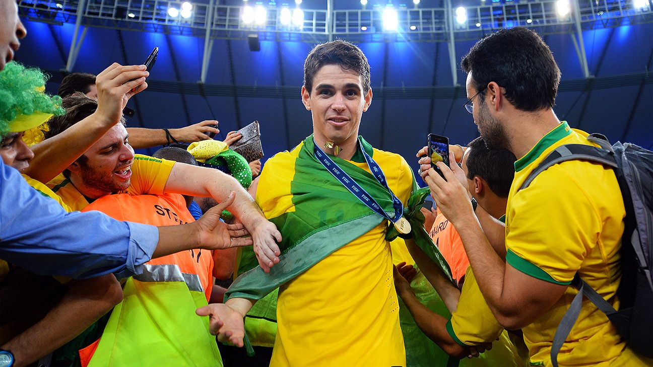 Oscar was a key component of Brazil's 2013 Confederations Cup success.