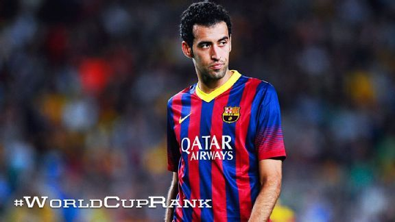 Sergio Busquets will seemingly never get recognition despite his vital role for club and country.