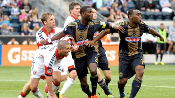 Despite having stars like Maurice Edu and Amobi Okugo, the Philadelphia Union are ninth in the Eastern Conference.
