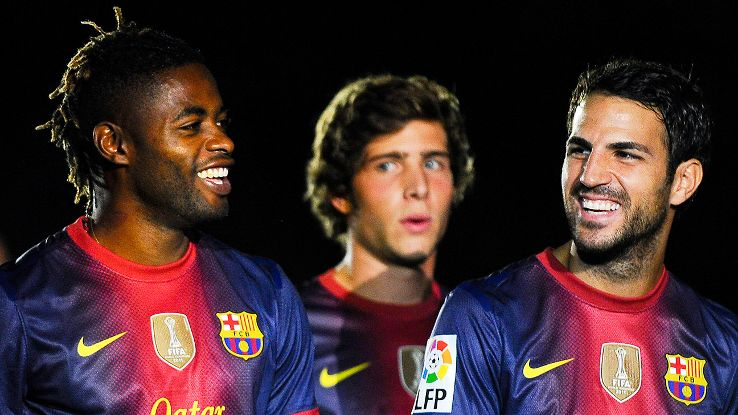 Alex Song could find a new home at Liverpool or Manchester United, or return tor Arsenal.