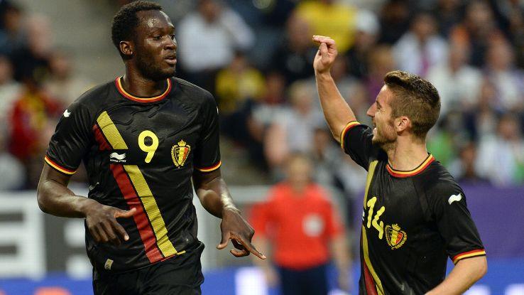 Romelu Lukaku set Belgium on their way to victory vs. Sweden.