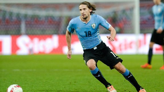 Gaston Ramirez has been given more responsibility for Uruguay in the buildup to Brazil.