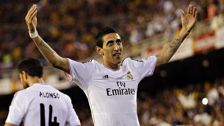 Di Maria developed into the player he is today after signing for Real Madrid.