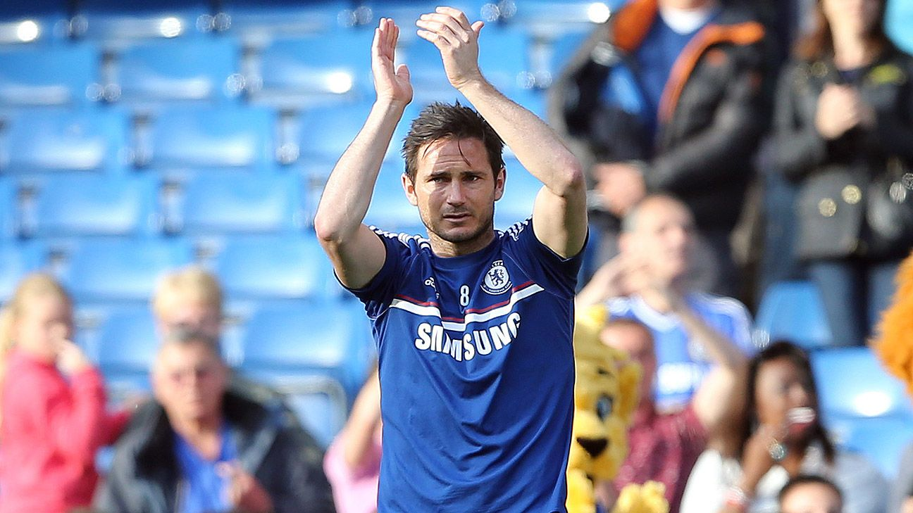 As a midfielder, Frank Lampard was still capable of scoring plenty of goals for Chelsea, including 27 during the 2009-10 season.