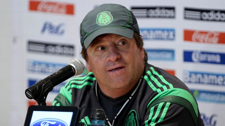 Miguel Herrera has had to alter his side after numerous injuries in Mexico's build up to the World Cup.