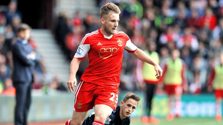 Luke Shaw's been given a huge opportunity with England this summer.