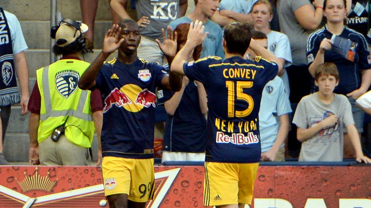 Bradley Wright-Phillips padded his lead as the leader in the Golden Boot race with another goal against Sporting KC this weekend.