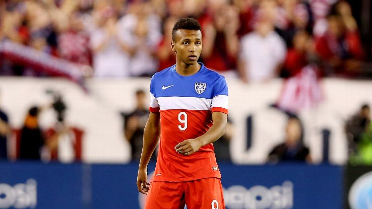 Julian Green was highly recruited by the national teams of both the U.S. and Germany.