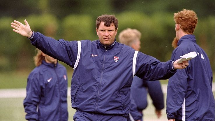 After a promising start, Steve Sampson had a difficult time as coach in the 1998 World Cup.