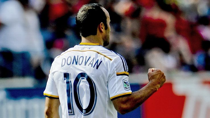 Since being snubbed from the USMNT, Landon Donovan has been on fire in MLS with three goals in two games.