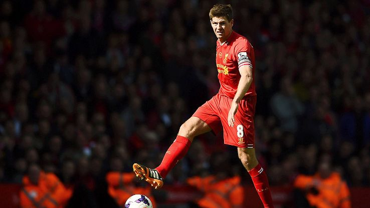 Initially pushed forward as the box-to-box role withered, Steven Gerrard reinvented himself as a deep-lying playmaker.