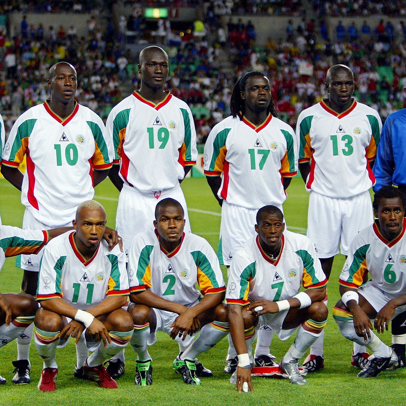 Senegal became the second African team to reach a World Cup quarterfinal in 2002.