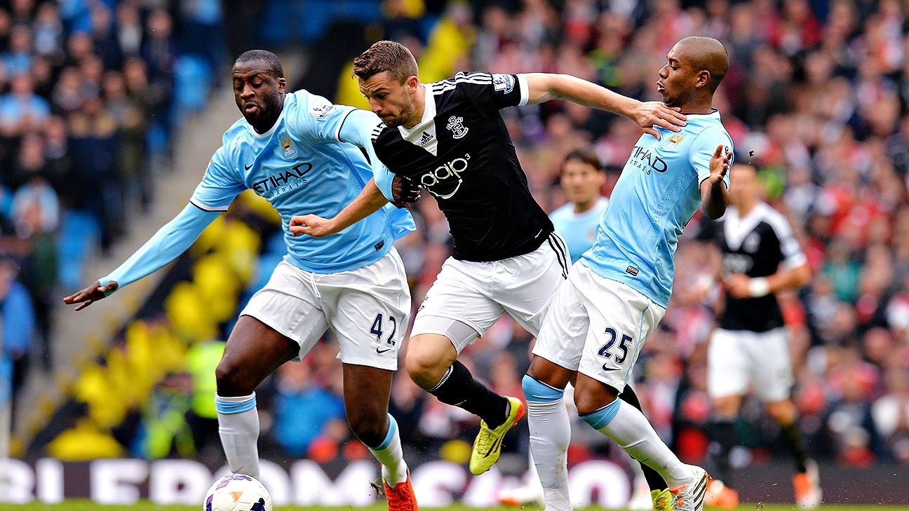 Yaya Toure and Fernandinho also demonstrate the resurgence of the do-all, cover-ground midfielder.