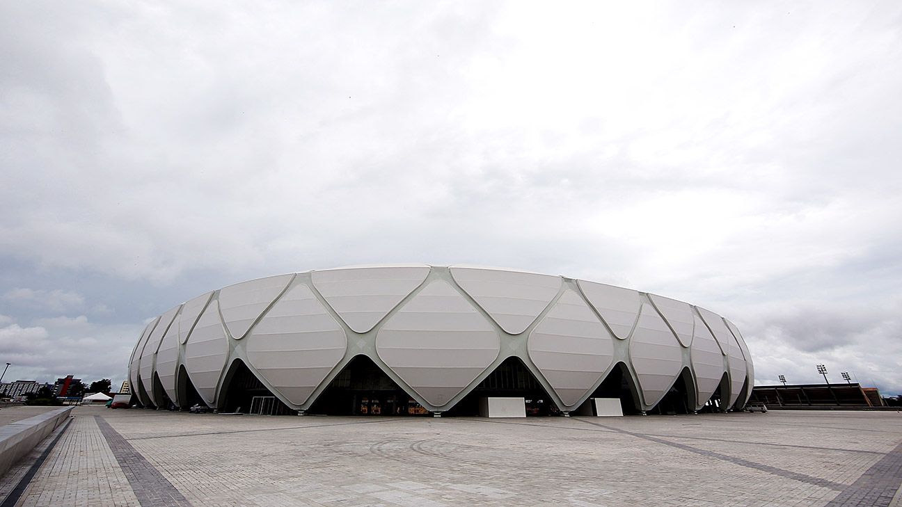 The $273 million Arena da Amazonia in Manaus is a stark contrast to the city's strong amateur footballing culture.