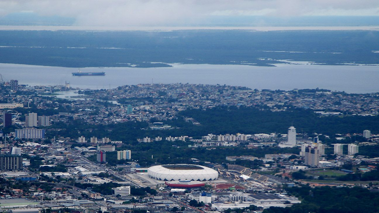 The Arena da Amazonia in Manaus is the crown jewel of Amazonas football.