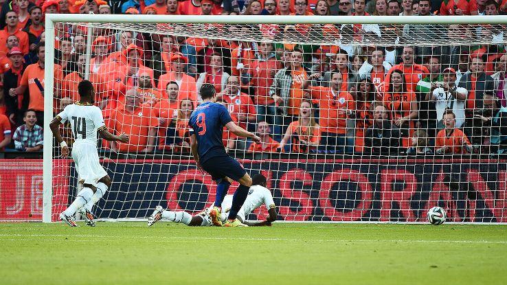 Jeffrey Schlupp's slip against the Netherlands was a microcosm of Ghana's defending.