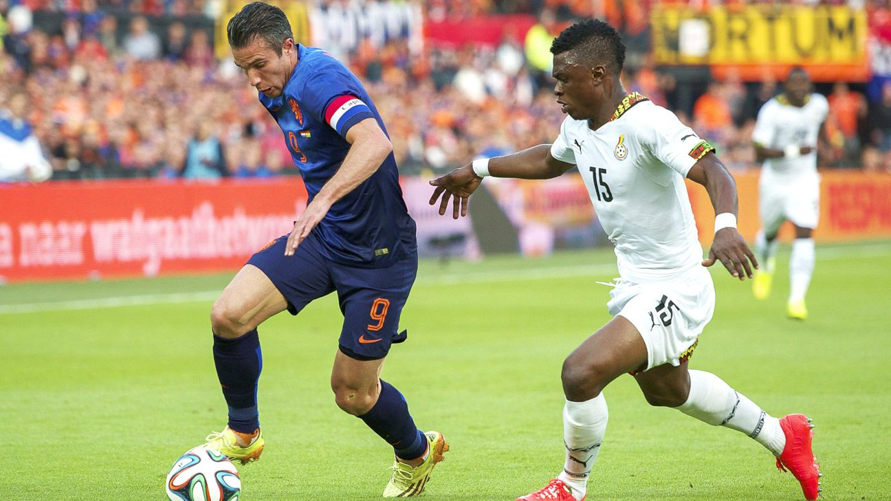 Rashid Sumaila is developing into Ghana's brightest defender.
