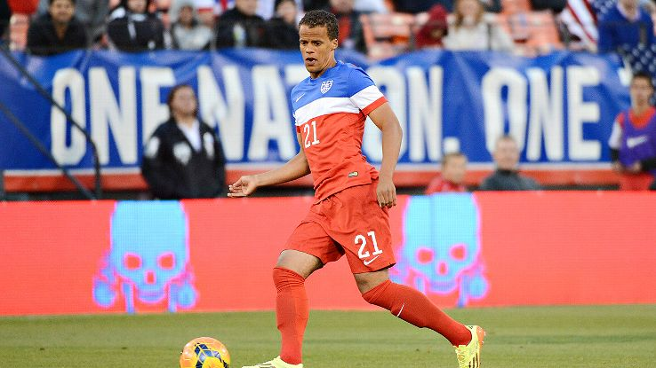 Timothy Chandler was a surprise selection when Jurgen Klinsmann named him to the USA's World Cup team.