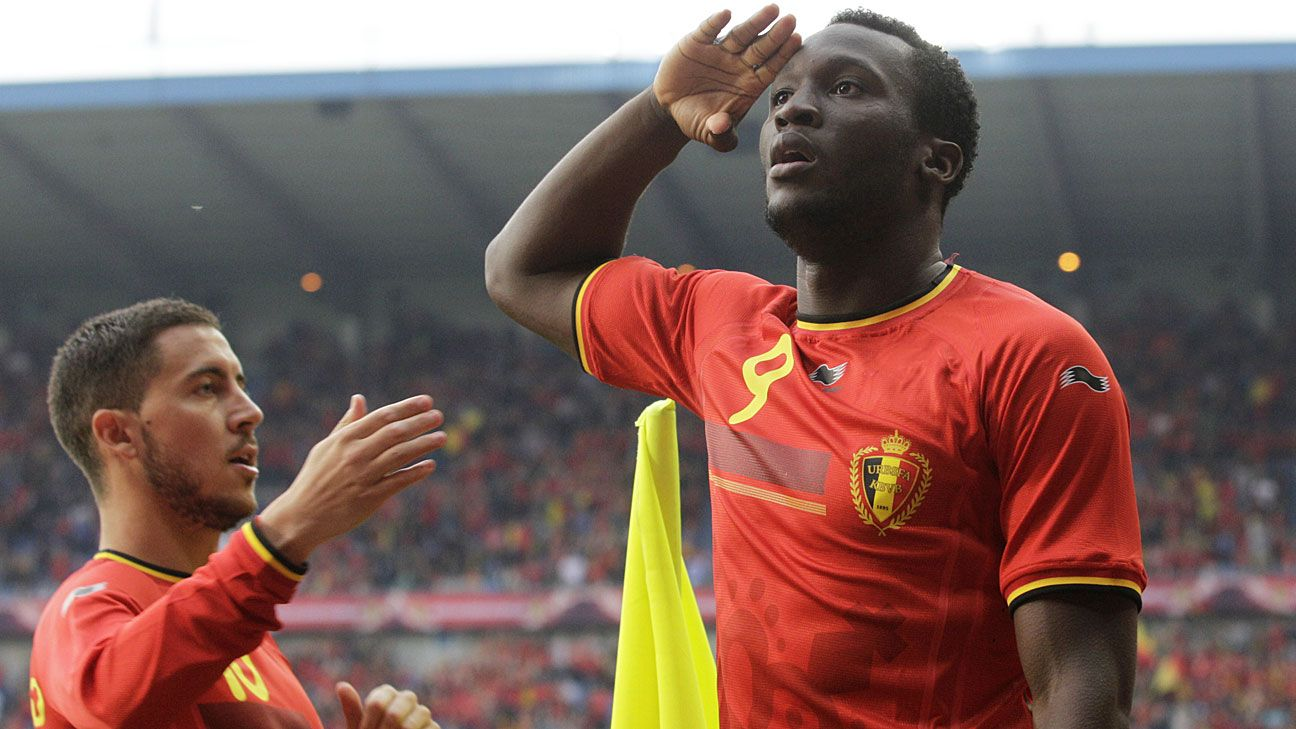 Romelu Lukaku won't be satisfied until Belgium wins the World Cup.